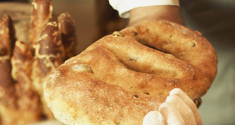 Wrapping and heating stale ciabatta bread can make this Italian staple enjoyable again.