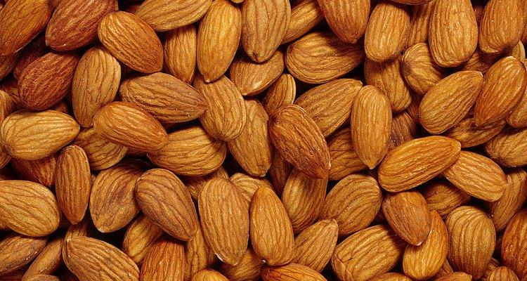La almendras son un alimento altamente alérgico.