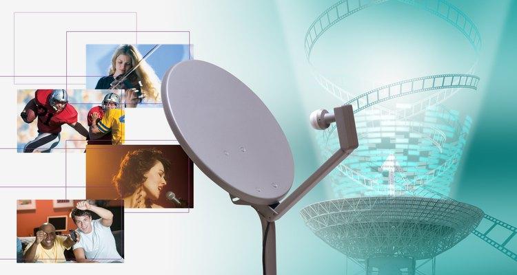 Antenas parabólicas podem captar todos os tipos de frequências de rádio