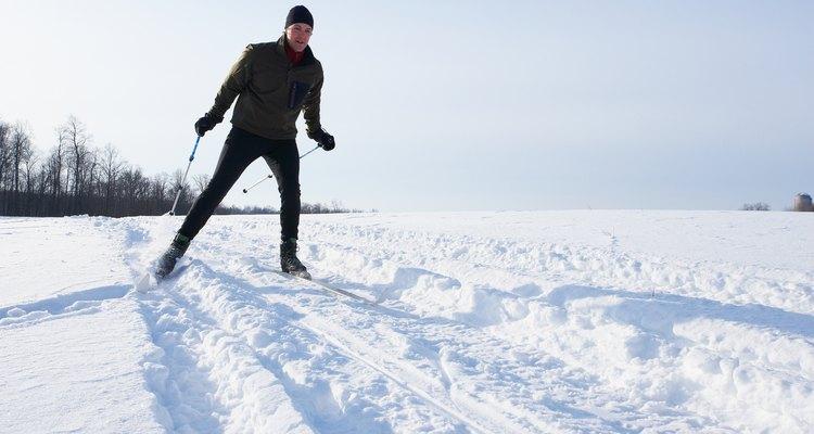 A quantidade de neve afeta muito a qualidade da corrida