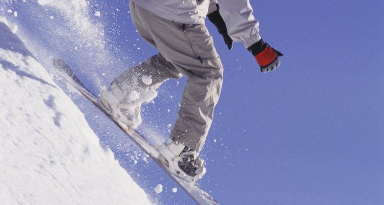 Hay muchas oportunidades para practicar snowboard en el estado de Washington.