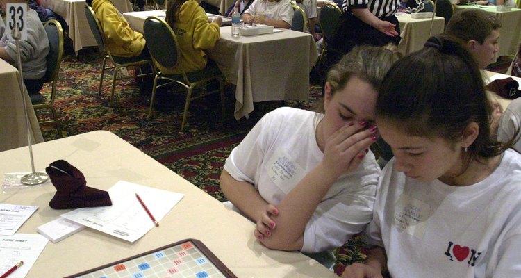 Juego Scrabble.
