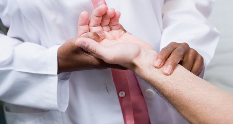 Como imobilizar um pulso
