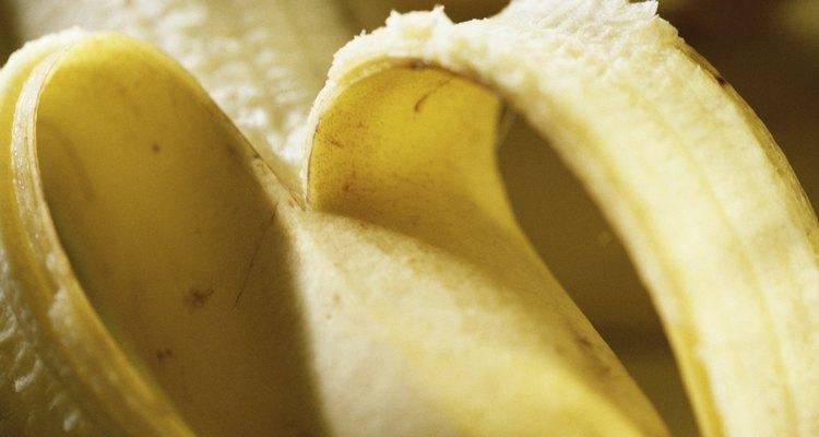 Bananas: perfect pancake companions