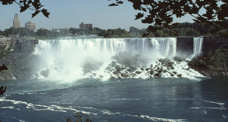 Las cataratas del Niágara representan la atracción más famosa de la zona.