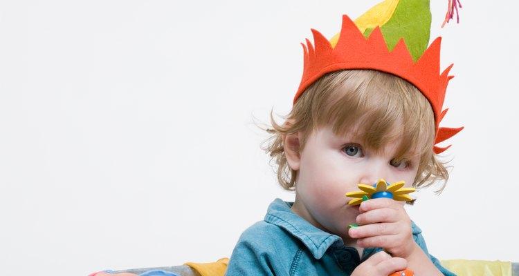 Los desórdenes de los niños pequeños pueden significar el descubrimiento de nuevos sentidos.