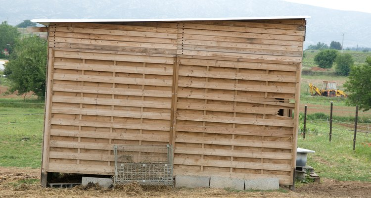 Wooden sheds are susceptible to rot, but you can replace or reinforce rotten studs to make them like new again.