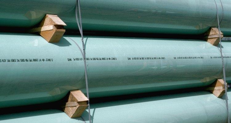 O cano PVC é um material ideal para se fazer um corrimão