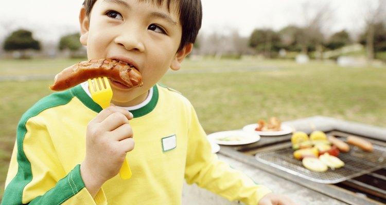 Las salchichas son preferidas por los niños.