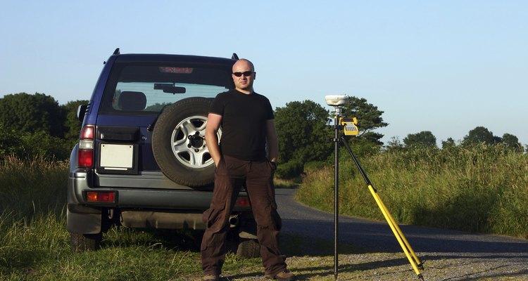 Ubicación topográfica con GPS.