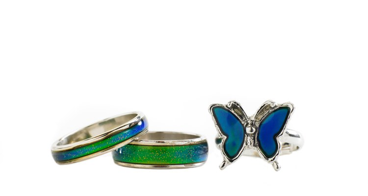 Mood jewellery comes in a variety of sizes and shapes.