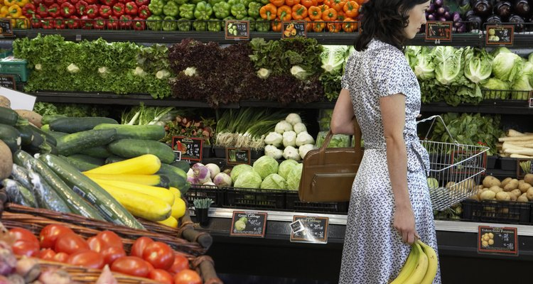 Fruits and vegetables are categorised into types in different ways.