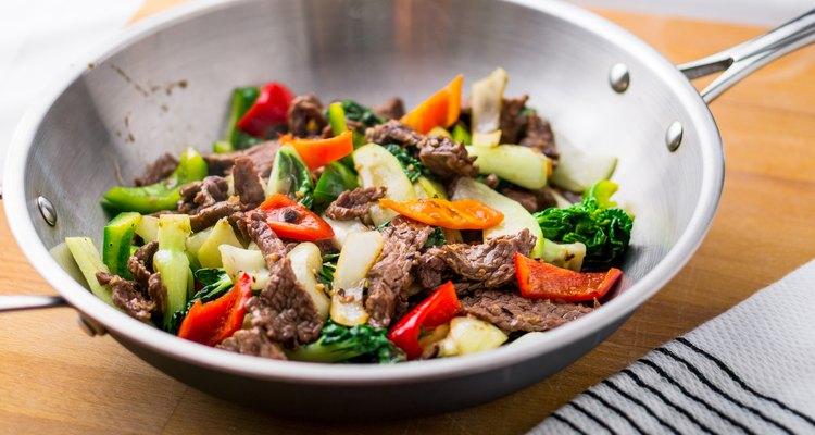 Wok Stir Fry With Beef & Vegetable
