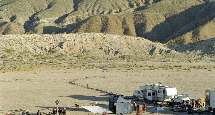 Si vas al desierto de Florida, bien vale la pena pensar en un plan de acampada.