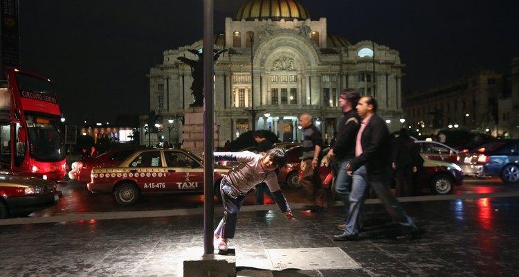 Palacio de Bellas Artes en la capital mexicana.