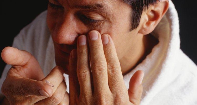 Extraer proteínas evita la irritación de los ojos.