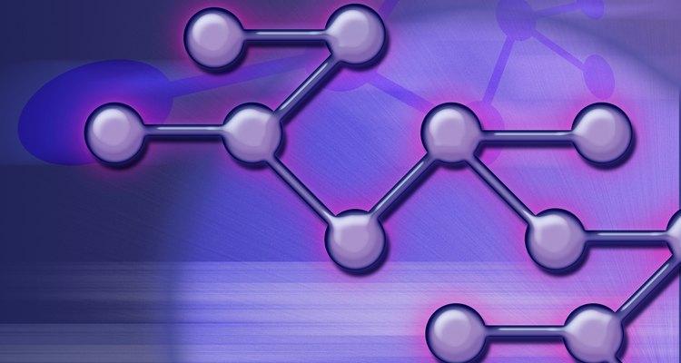 Pode-se calcular o ângulo de ligação baseado na forma da molécula