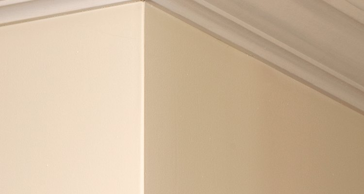 When painted it should be impossible to tell what material the coving is made of.