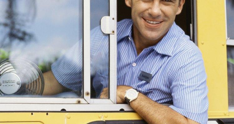 Mostre ao motorista do transporte escolar que você está agradecida pelo trabalho dele