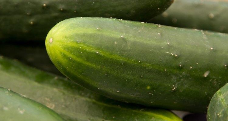 La mayoría de los pepinos son ya sea rebanados o encurtidos.