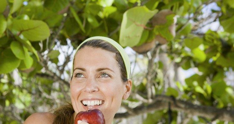 Macieiras cultivadas da semente nem sempre produzem maçãs comestíveis