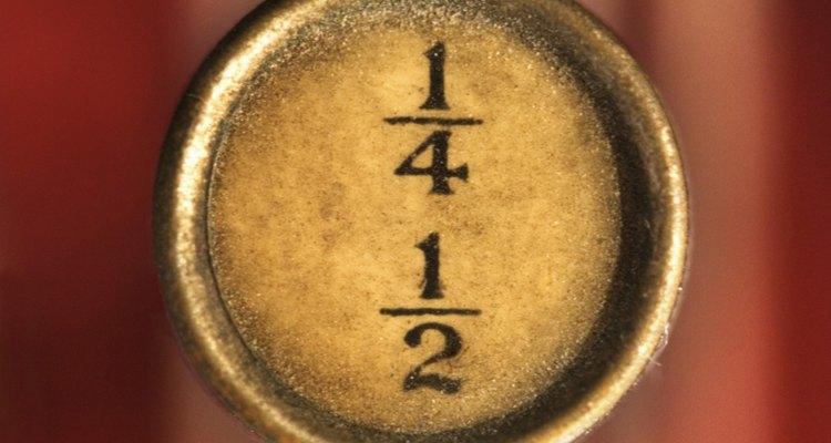 Redondear fracciones es sencillo cuando la fracción ha sido convertida en un decimal.