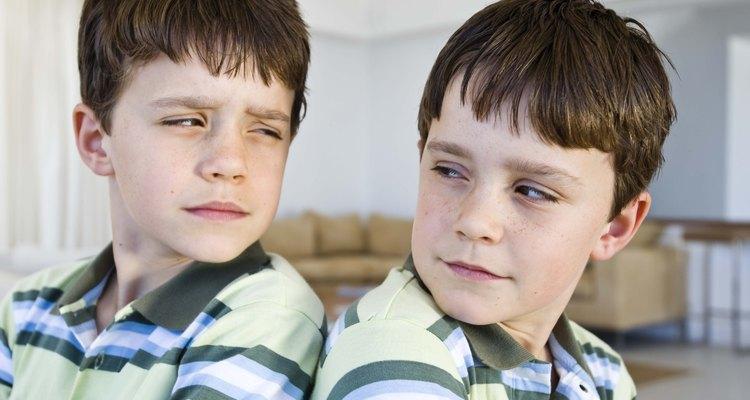 No se puede saber si los gemelos son fraternos o idénticos con sólo verlos.