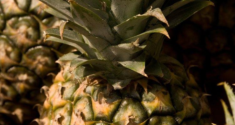 O abacaxi é uma fruta bem diferente