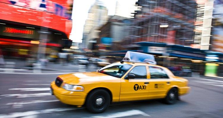 Os táxis privados e de coperativa costumam ser negócios de sucesso