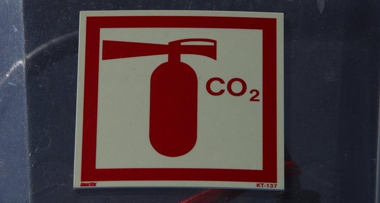 Los extintores portátiles de dióxido pueden representar un riesgo para tu salud.