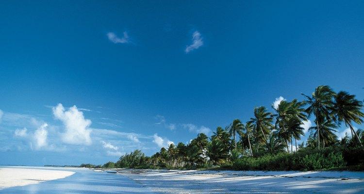 Playa en las Bahamas.