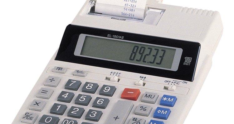 Defina casas decimais em uma calculadora financeira HP 12C