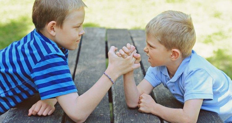 La rivalidad entre hermanos es otra fuente de conflictos familiares.