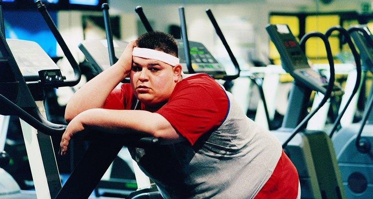 Perder peso y ponerse en forma.