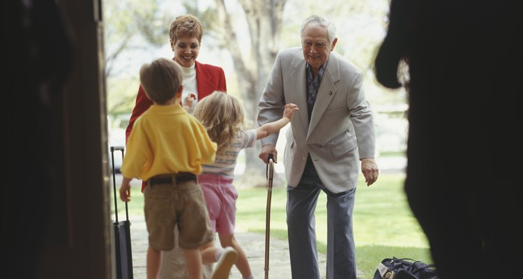 Assistive aids for seniors can make climbing stairs easier.