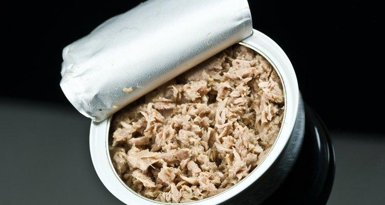 Não abra uma lata de atum que esteja estufada para ver se está estragado