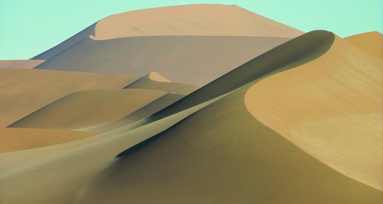 Loose sand blown to form a hill is a sand dune.