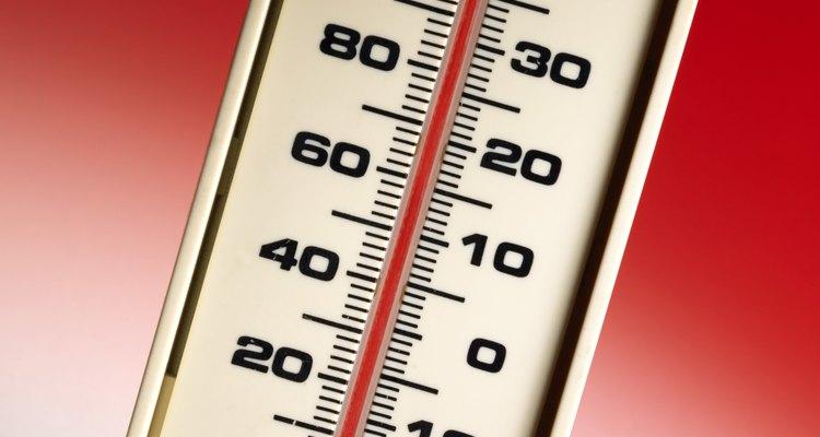 Temperatura é uma propriedade física de toda matéria