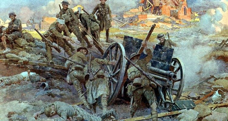 Five million Britons served in World War I.