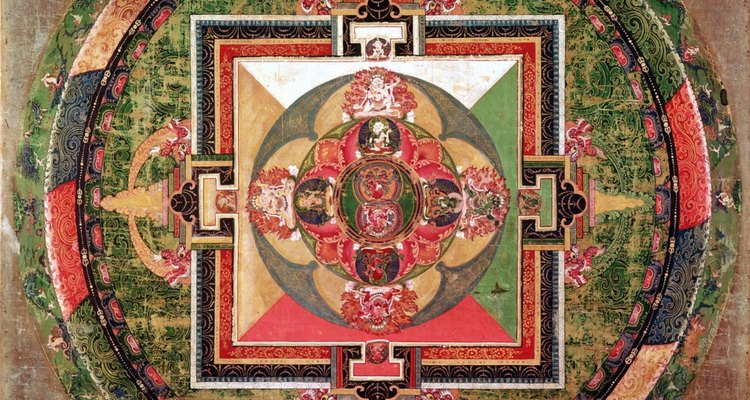 A figura mandala, em geral, é a mesma em várias culturas