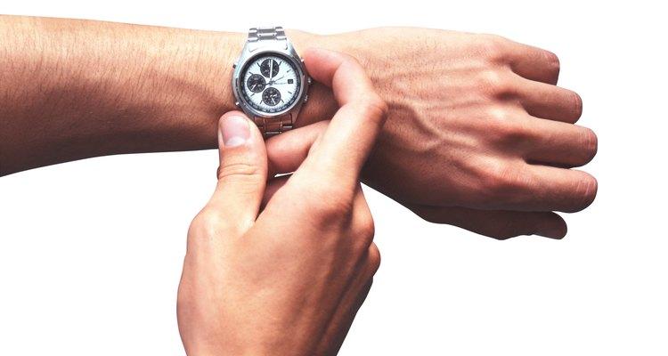 Configurando seu relógio analógico