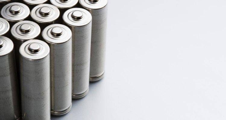 Baterias sem vazamentos não representam um risco à saúde quando manuseadas