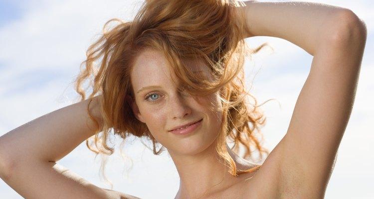 Cambia tu cabello rubio fresa.