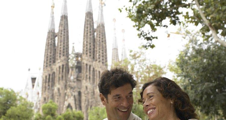La iglesia de la Sagrada Familia es una de las gemas inconclusas de Gaudí.