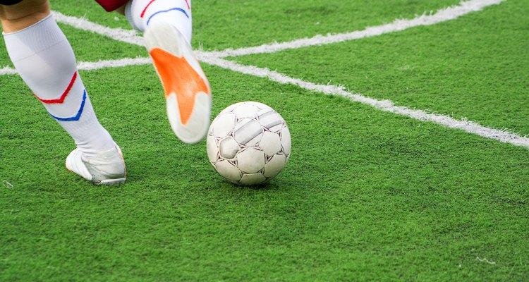 O futebol requer passos exatos