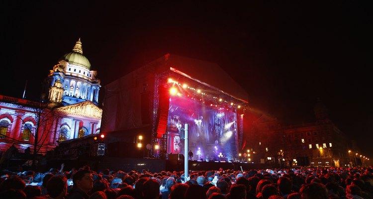 The MTV Awards hit Belfast.