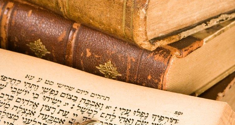 Libro de plegarias judío.