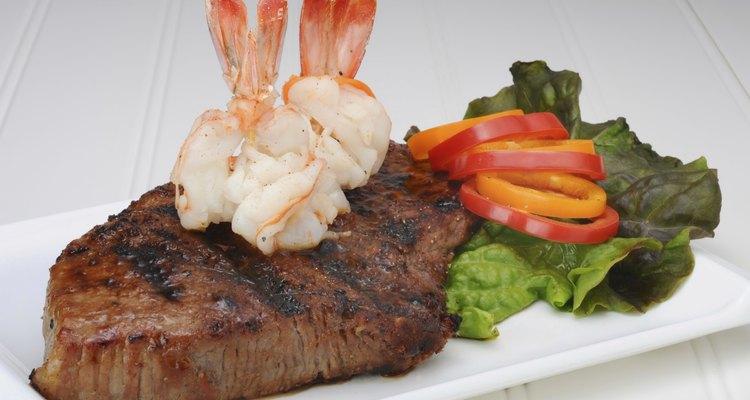 Steak and Shrimp.