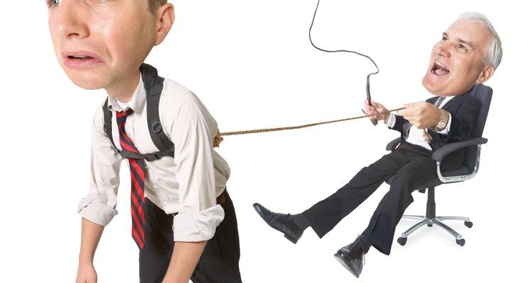 A relação com o chefe é uma das principais fontes de problema no emprego