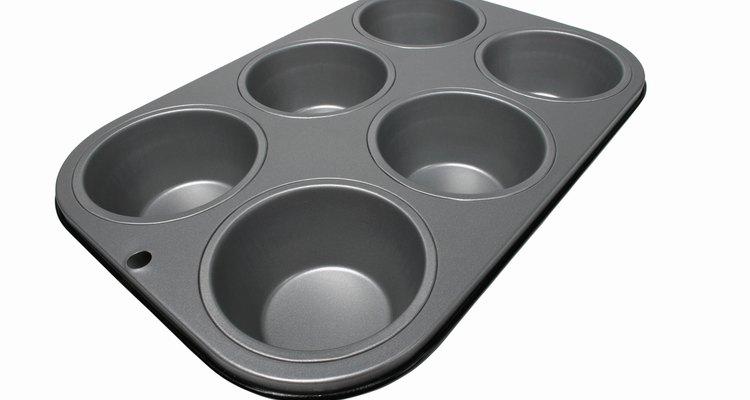 """Forma para """"muffins"""" revestida com teflon"""